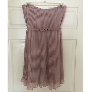 Muse Soft Pink Strapless Dress